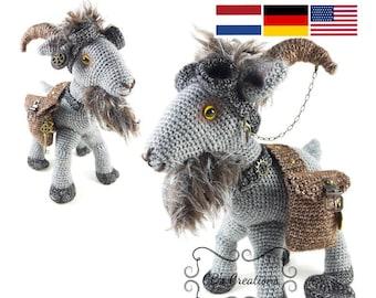 PATTERN: Crochet goat pattern Amigurumi goat pattern | Etsy | 270x340