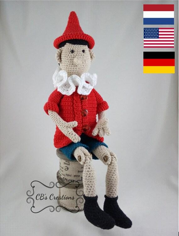 Wooden Puppet Houten Pop Haken Pinocchio Pinokkio Etsy