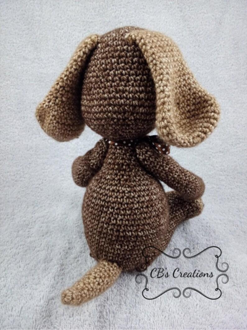 Haakpatroon Hond Crochet Pattern Dog Hondje Tanja Little Etsy