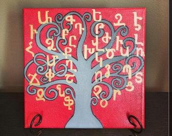 Armenian Alphabet Tree