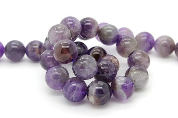 """New 6-8mm purple Round Rhodochrosite Gemstone Loose Beads 15/"""""""