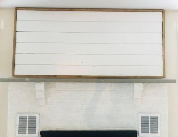 Framed Shiplap Shiplap Fireplace Shiplap Decor Shiplap Etsy
