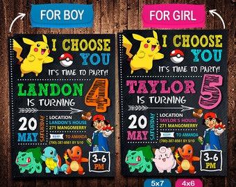 pokemon party etsy