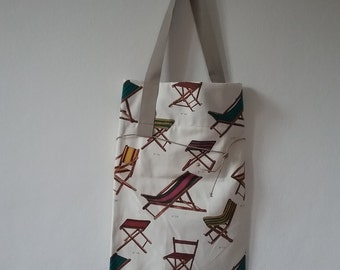Re-pouch bag fabric with shoulder strap