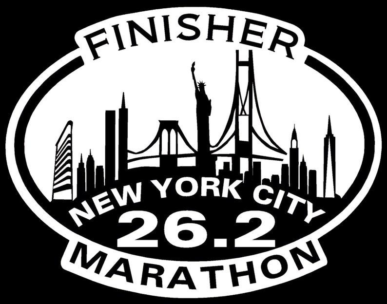 Nyc New York City Marathon Finisher Magnet Nyrr 2018