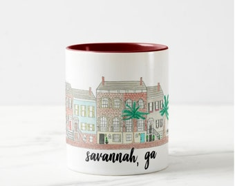 Savannah Coffee Mug Etsy