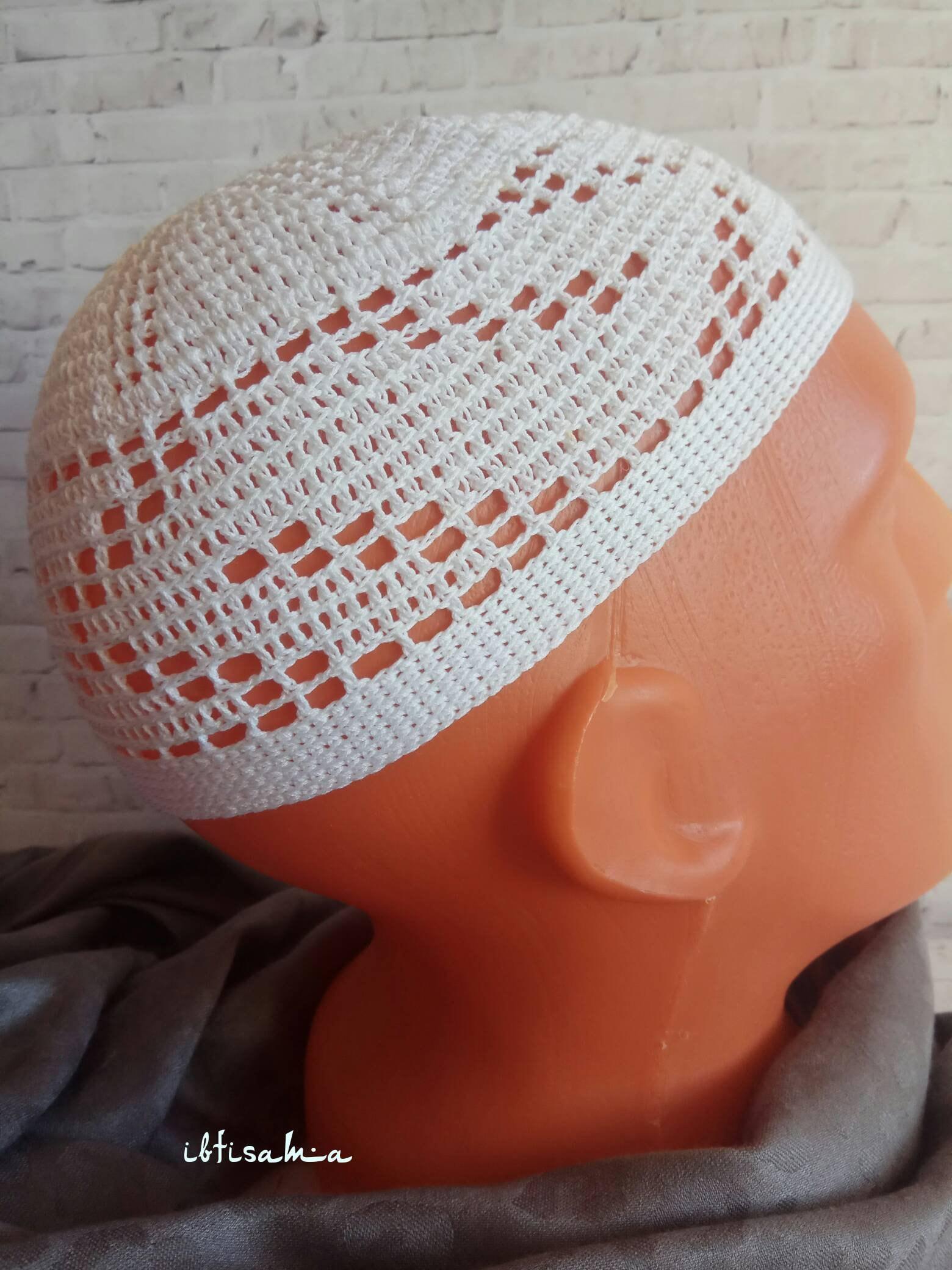 0dbe2d7dfa8 Muslim hat cotton skull cap kufi hat men beanie crochet kufi etsy jpg  1560x2080 Muslim hats