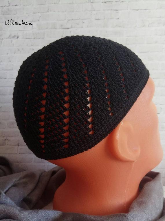 eca2086ef753d African hat Kufi hat men Kufi Kufi hat Crochet Kufi Men s