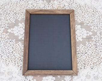 Rustic Wedding Decor -  Wood Frame Chalkboard in three sizes
