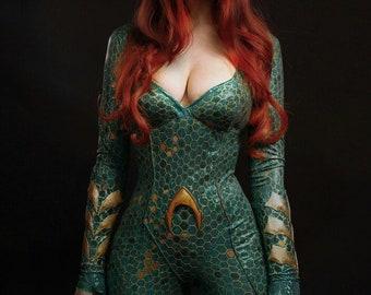 Mera cosplay costume Justice League