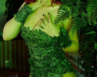 Poison Ivy full cosplay costume DC comics