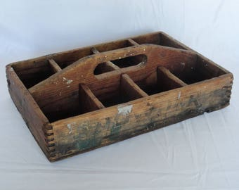 Antique Wooden Caddy