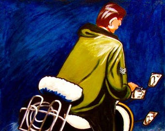 Quadrophenia The Who Vespa Print Poster