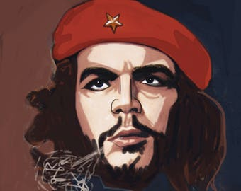 Ernesto Che Guevara Cigar Print Poster 1cee15271b7