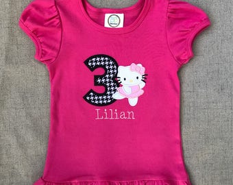 Hello Kitty Birthday Shirt Ballerina
