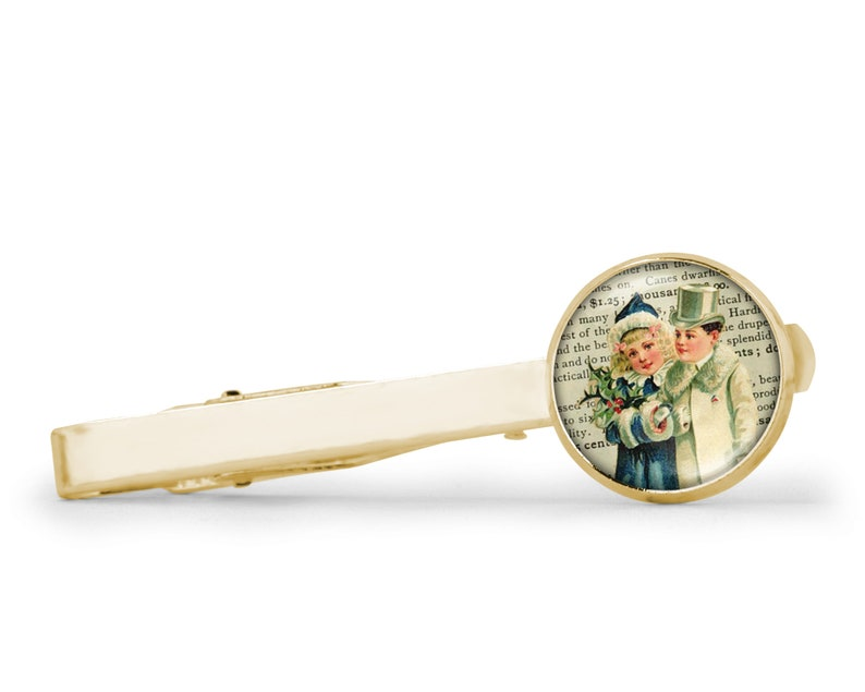 Tie clip for men Victorian wedding Old style Silver tie clip Victorian Illustration Vintage wedding jewelry Vintage wedding tie clip