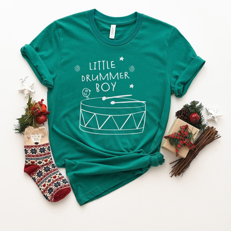 f412d5e9 Christmas T-Shirt Little Drummer Boy Toy Drum Boy Soldier | Etsy