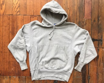 1990's Medium Sycamore Reverse Weave Hoodie by Champion