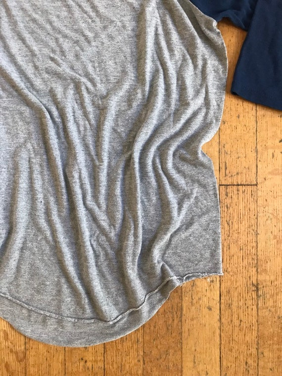 1960 ' 3/4 s Université DePaul Medium 3/4 ' manches T-Shirt df9881