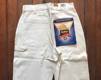 1980's Size 28 & 29 Small Deadstock Painter's Pant by Oshkosh