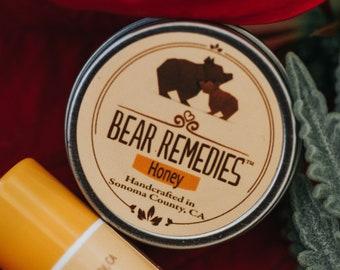 Honey Lip Balm Tin - Organic