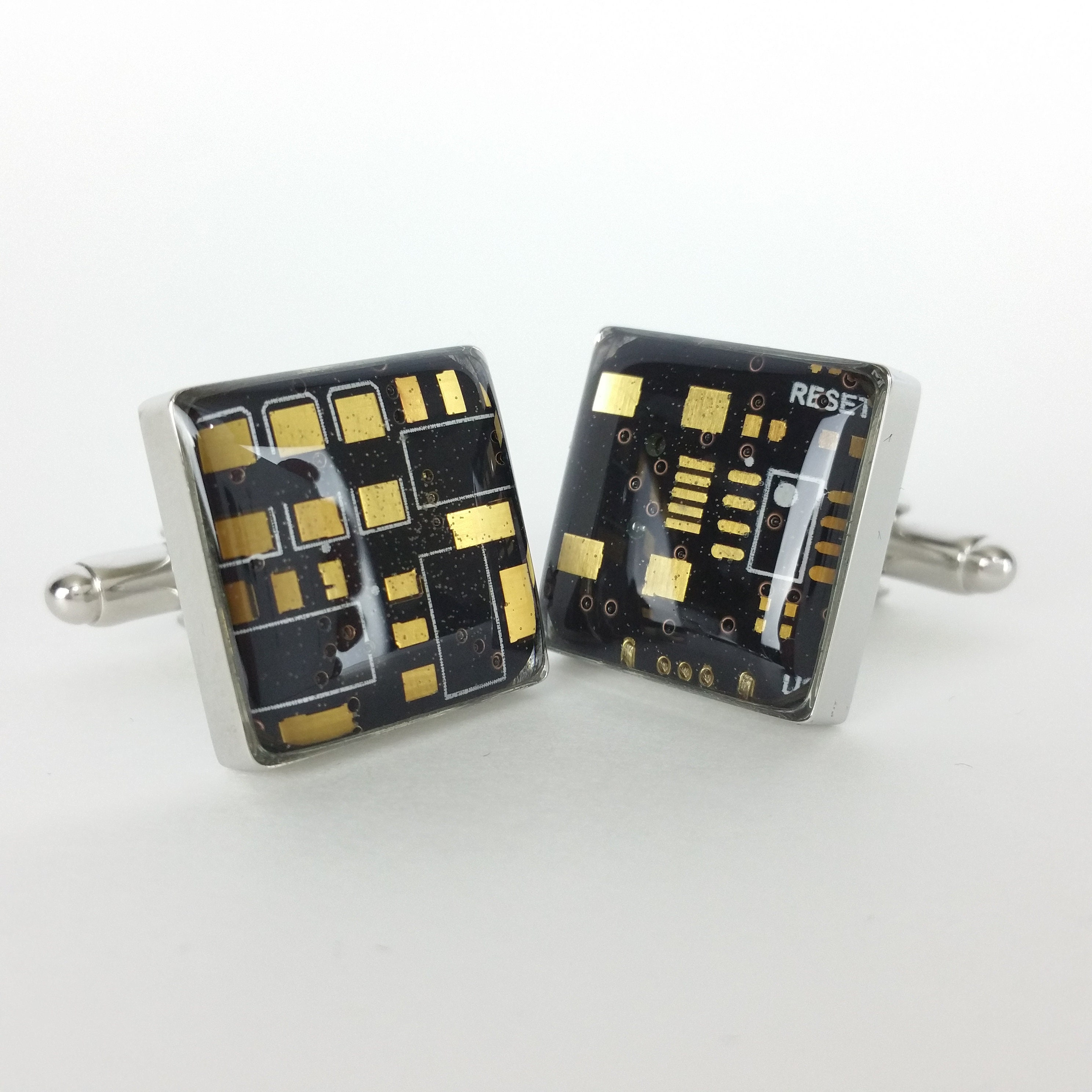Blackberry Circuit Board Cufflinks Made With Recycled Etsy Technology