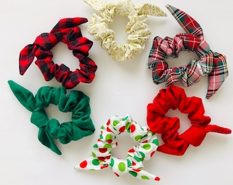 HOLIDAY- Scrunchie Ties