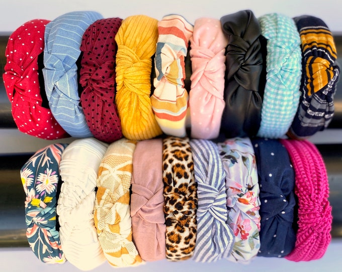 Featured listing image: KNOTTED HEADBANDS