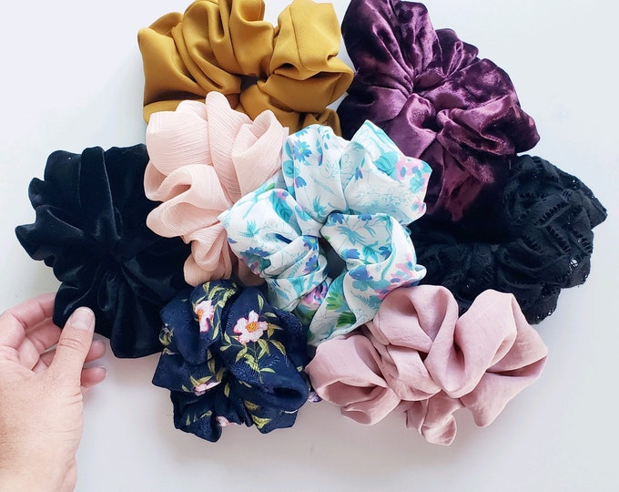 Featured listing image: JUMBO SCRUNCHIES