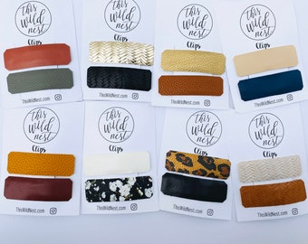 LARGE SNAP CLIPS Mix and Match