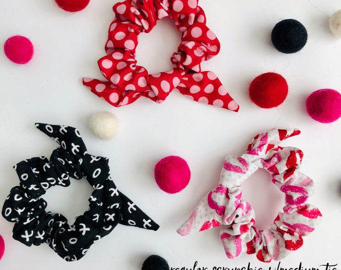 Featured listing image: BE MINE- Scrunchie Ties