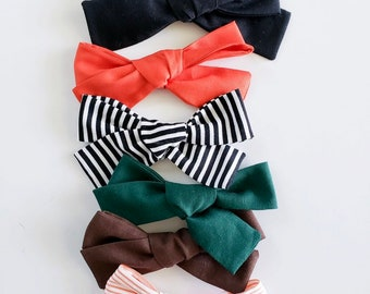 HALLOWEEN Large Bows (set of 2)
