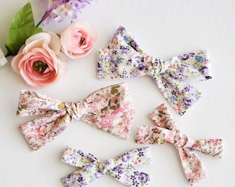 SPRING FLORAL BOWS