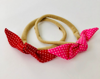 MINNIE LINE- Baby Tie Headbands