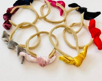 VELVETS- Baby Tie Headbands