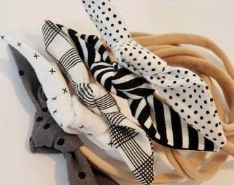 CLASSICS- Baby Tie Headbands