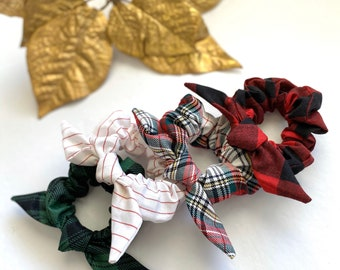 HOLIDAY SCRUNCHIE TIES