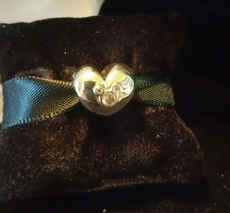 aca38f700 Pandora Charms HEART OF MICKEY Charm New Disney Heart Of | Etsy