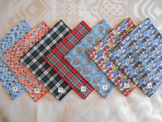 Ladies Handkerchief in Liberty Of London Tana Lawn