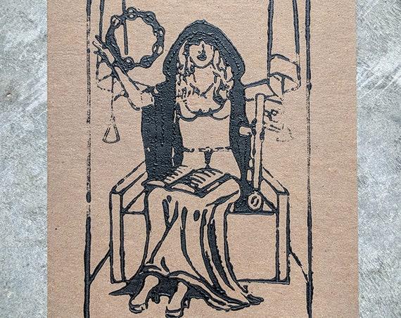 Stevie Nicks as the High Priestess print