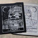 Large Death Card Patch