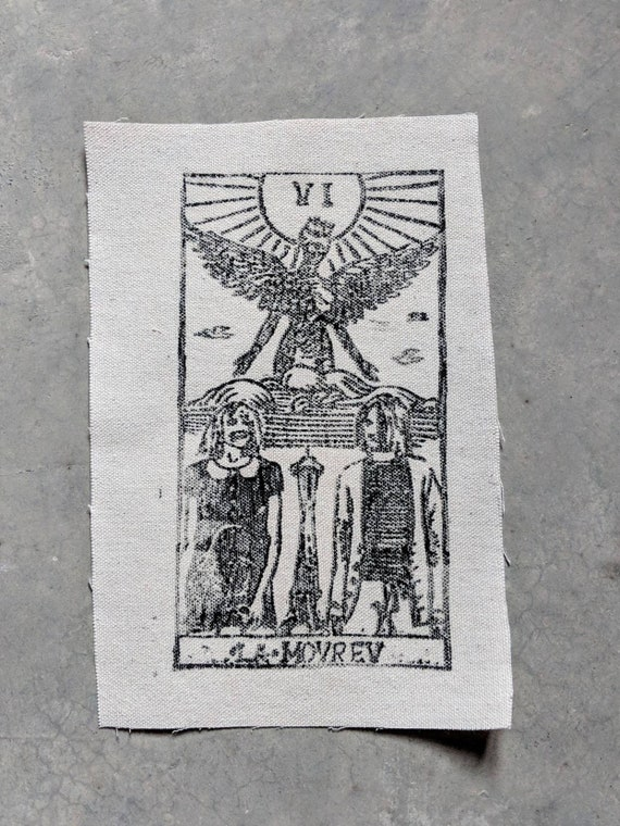 Kurt Cobain and Courtney Love as the Lovers Patch