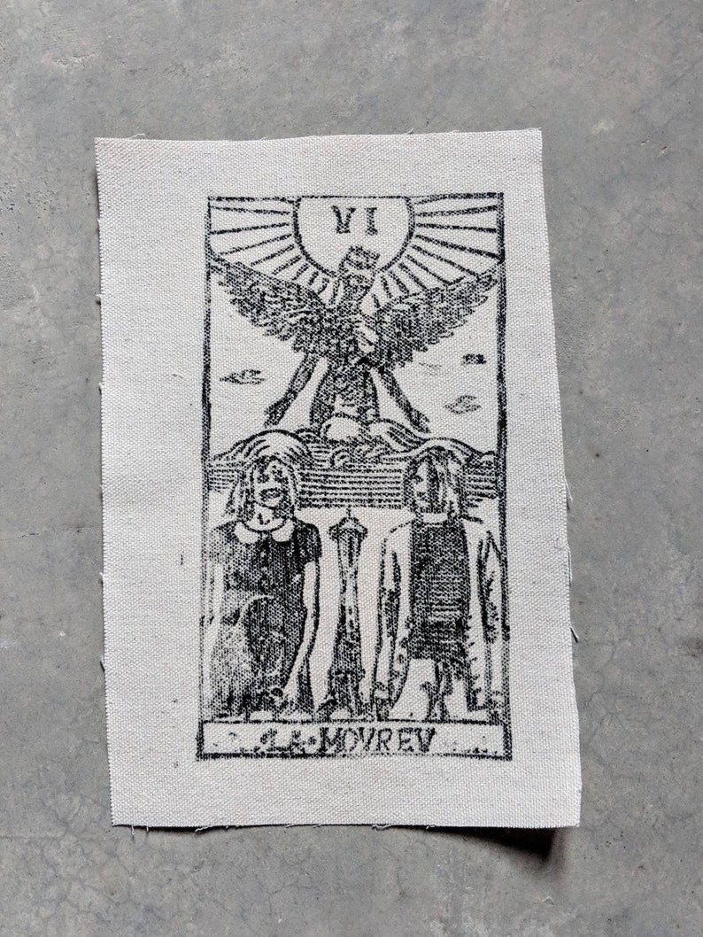 Kurt Cobain and Courtney Love as the Lovers Patch image 0