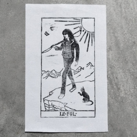 Joey Ramone as The Fool Patch