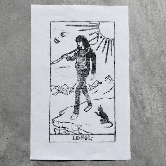 Joey Ramone as The Fool Patch