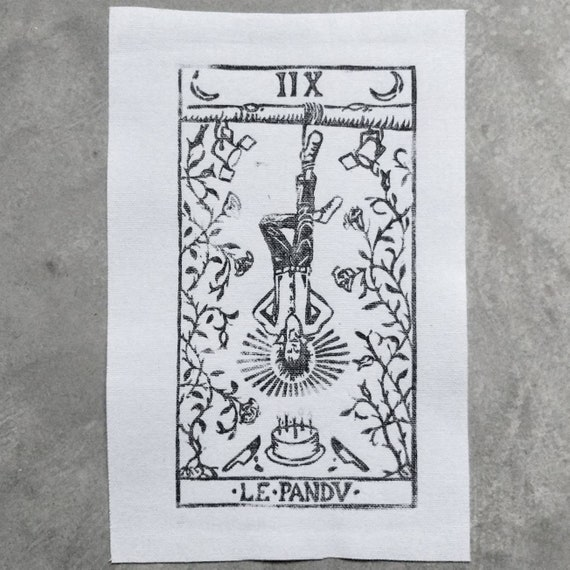 Nick Cave as the Hanged Man Patch