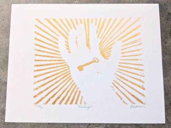 Knowledge Fine Art Print