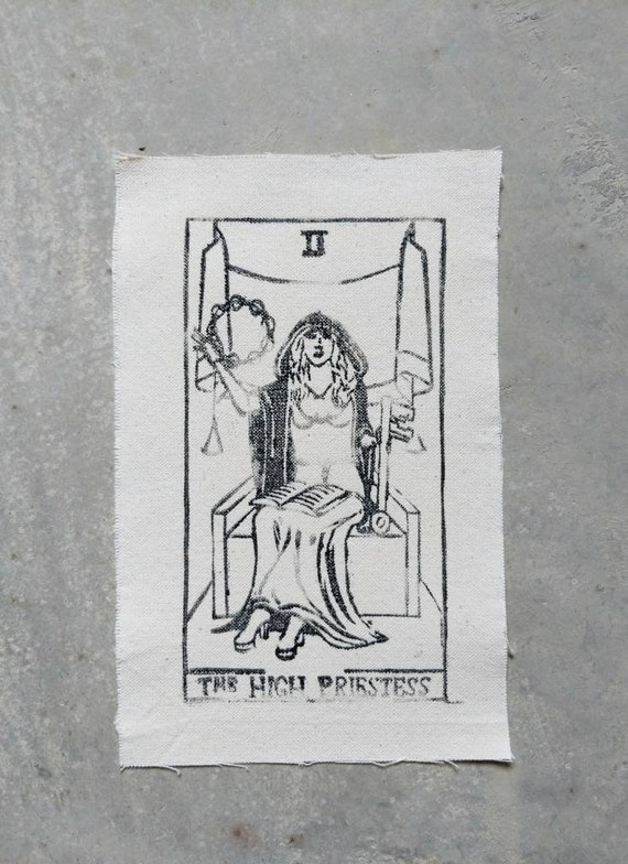 Stevie Nicks as The High Priestess Patch