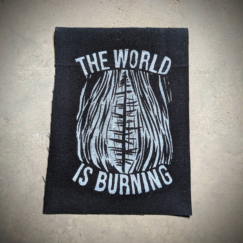 The World Is Burning Patch image 0