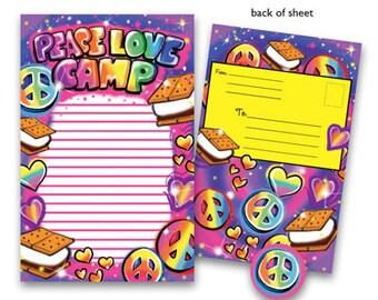 Camp Seal-N-Send Stationery - Airbrush Love